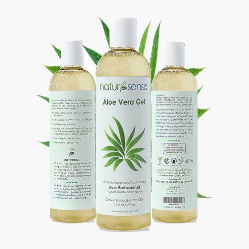 4 Best Organic Aloe Vera Brands For Nourishing Your Skin Organic Aloe Vera Gel Organic Aloe Vera Aloe Vera For Hair