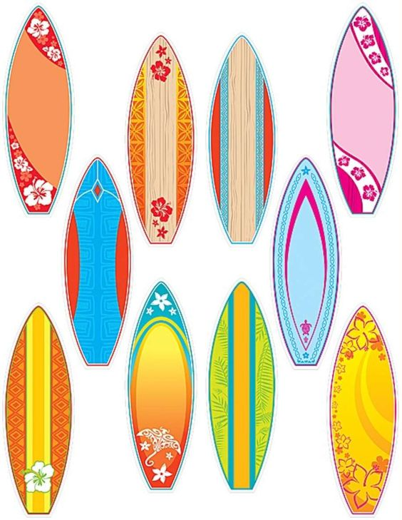 Surfboards Accents Image