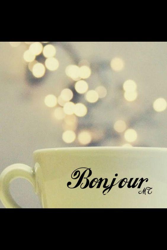 """""""Bonjour"""""""