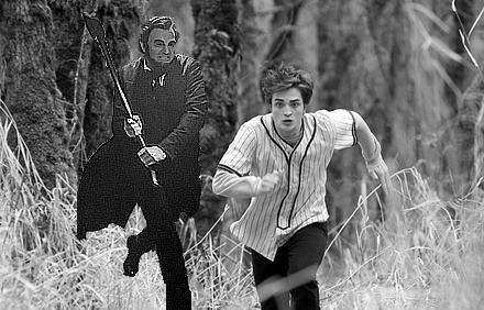 Abraham Lincoln: Vampire Hunter.seriously this is about what the movie amounted to.complete obliteration of the book. grr.