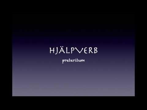 Hjalpverb I Preteritum Youtube Film