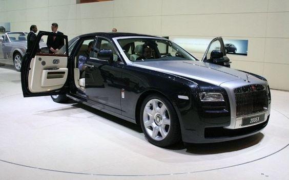 The Rolls Royce Ghost >> by Saintrop.com, the Nirvanesque Cote d'Azur..