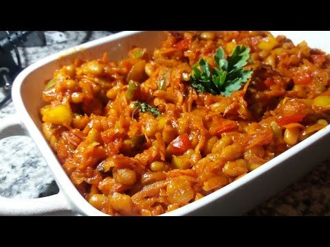 Spicy Homemade Chakalaka Youtube In 2020 Chakalaka Recipe How To Cook Macaroni Spicy