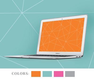 Geometric desktop wallpapers
