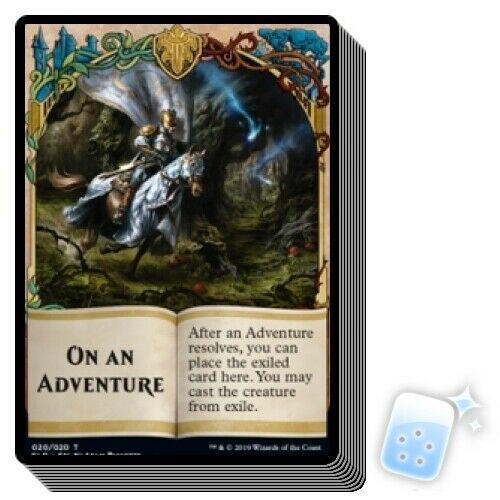 ***4x Fabled Passage*** MTG Throne of Eldraine ELD MINT