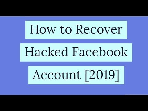 How To Recover Hacked Facebook Account 100 Working Step