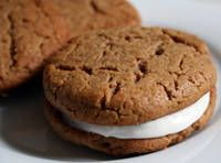 vegan peanut butter sandwich cookies