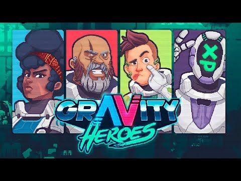 Gravity Heroes Testando A Demo Jogo 100 Brasileiro Youtube Herois Jogos Comida Brasileira