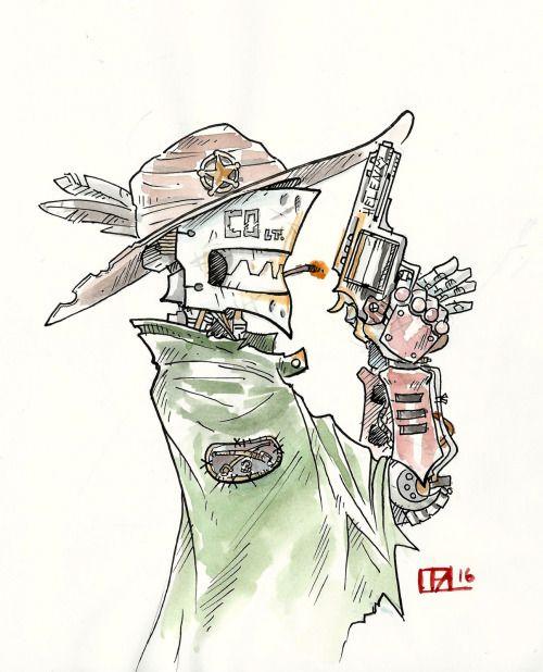 """C0-lt. 45 Watercolor 8x10"""" via /r/Art..."""