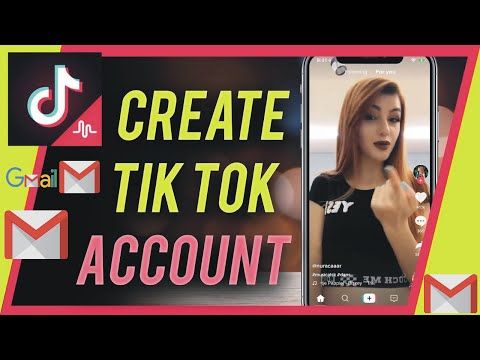 How To Create A Tiktok Account In Gmail Tiktok Account Gmail Or Email Par Kaise Banaye In 2020 Accounting Gmail Youtube
