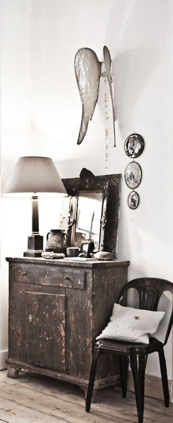 industrial grey and wings on pinterest. Black Bedroom Furniture Sets. Home Design Ideas