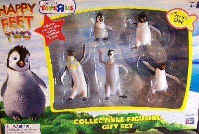 Happy Feet 2 - Collectible 5 piece Figurine Gift Set 1-Erik, Mumble, Gloria, Lombardo & Raul. by THINKWAY TOYS. $12.99. Happy Feet 2. Erik - Mumble - Gloria - Lombardo - Raul. Collectible 5 piece Figurine Gift Set 1. Happy Feet 2 - Collectible 5 piece Figurine Gift Set 1-Erik, Mumble, Gloria, Lombardo & Raul.