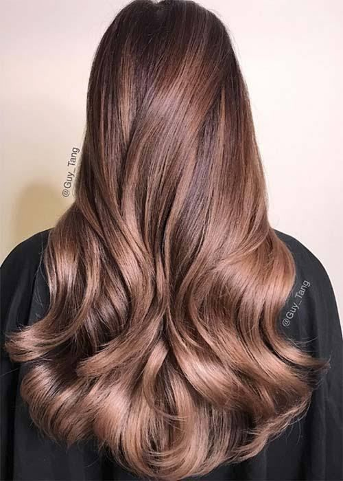 Pin By Emily Mccoy On Hair Ideas Hair Color Purple Lilac Hair Chocolate Mauve Hair
