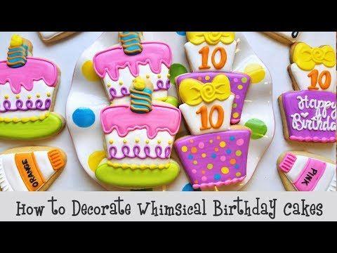 Fine Pin On Decorated Birthday Cookies Funny Birthday Cards Online Hendilapandamsfinfo