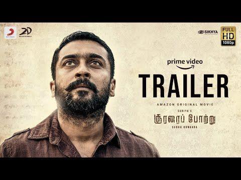 Soorarai Pottru Official Trailer Suriya Aparna Sudha Kongara Gv Prakash Kumar Youtube World Movies Video Trailer Trailer