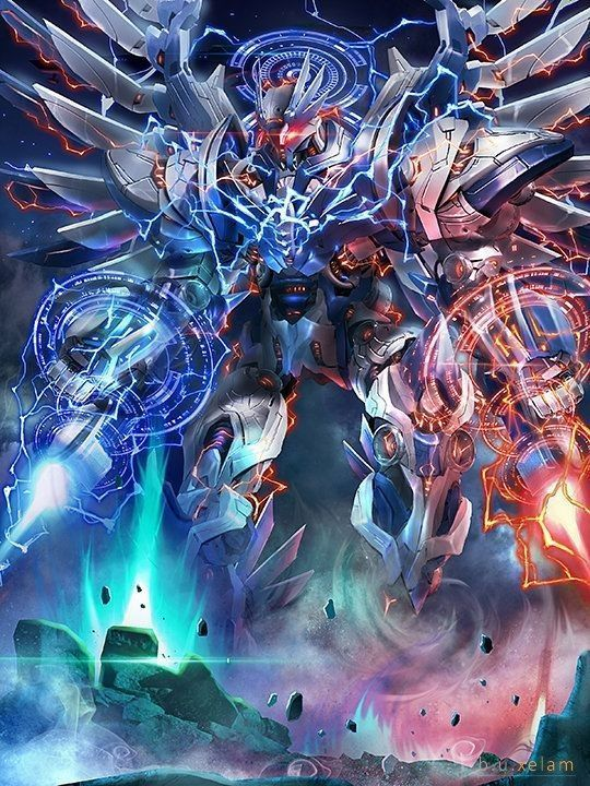 Anime War V2 Fused Persona Anime War Robot Concept Art Concept Art Characters Archon anime war wallpaper