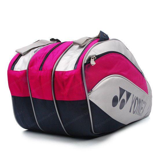 Yonex Tennis Badminton Bag 3 Packs Rucksack Pink Racquet Racket Squash B1205pk Yonex Badminton Bag Badminton Bags