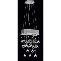 sheer rectangular chandelier - Google Search