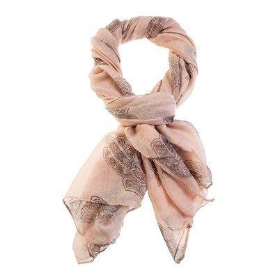 Lenço Hamsa Rosa. Os lenços dão um charme a mais no seu visual seja qual for o seu estilo. Lenço hamsa na cor rosa bebe Dimensões Altura: 1mt x 1mt 85cm de Largura