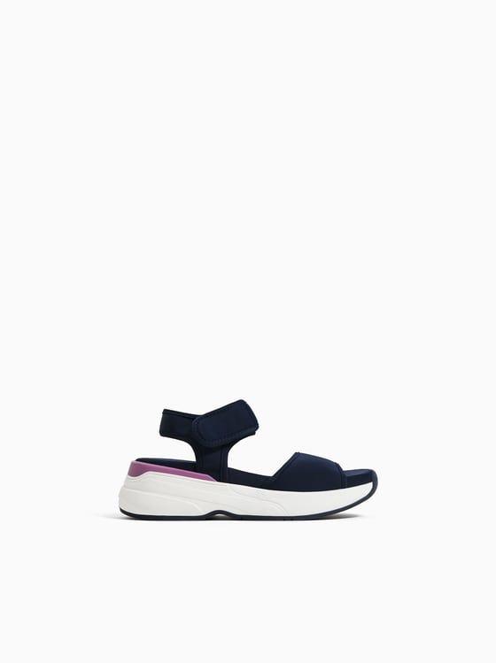 Sandalia Técnica Zapatos Para Niñas Zapatos Niña Zara Zapatos