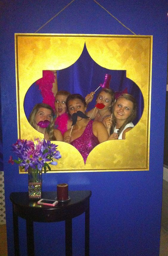 Moroccan Sweet 16 photo booth