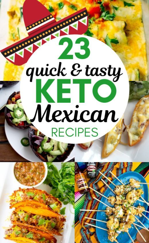 23 Keto Mexican Recipes To Spice Up Your Cinco De Mayo Party