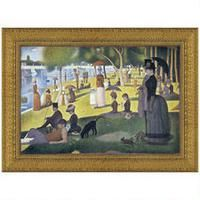 Sunday Afternoon on the Island of La Grande-Jatte, 1886, Canvas Replica Painting