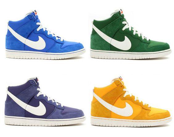"Nike Dunk Hi ""Blazer"" Pack"