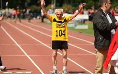 104 year old Stanislaw Kowalski became the oldest European to run 100 metres in 32.79 seconds. He puts his good health to never going to see the doctor! #joyofsport http://www.theguardian.com/sport/video/2014/may/13/104-year-old-polish-man-sets-100m-european-record-video