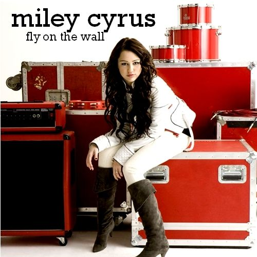 Miley Cyrus – Fly on the Wall (single cover art)