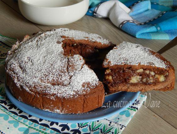 Crostata morbida nutella e mascarpone