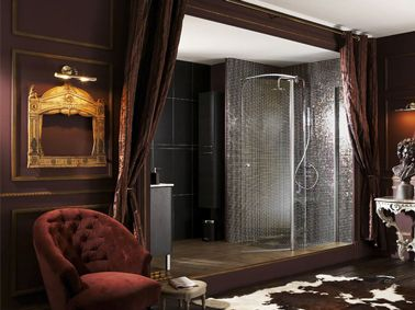 Douche italienne dans chambre adulte d co interieur et for Decoration maison italienne