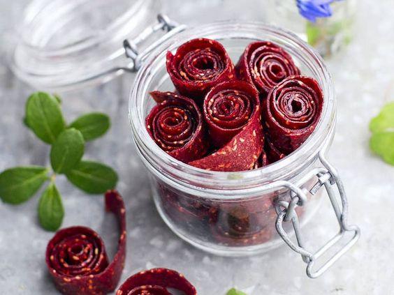 Fruchtleder: Gesunde Nascherei aus 2 Zutaten