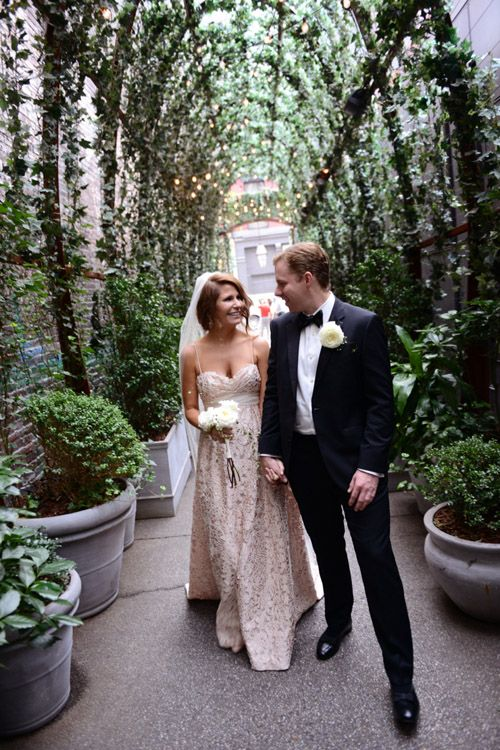 Chic Rooftop Nyc Wedding At The Mondrian Soho Andrea And Marcus Photography Elizabeth Fillmore