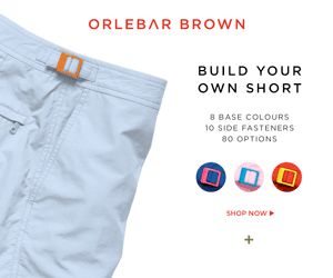 Orlebar Brown Customisable Shorts - The III Series ... create your own Swim Shorts!