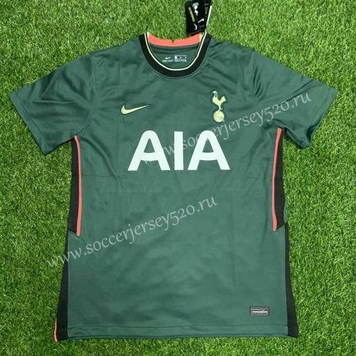 2020 2021 Tottenham Hotspur Away Green Thailand Soccer Jersey Aaa 407 In 2020