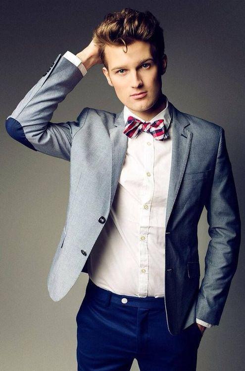 Dapper summer look: Bow Tie   Summer Sport Coat   Bow Ties
