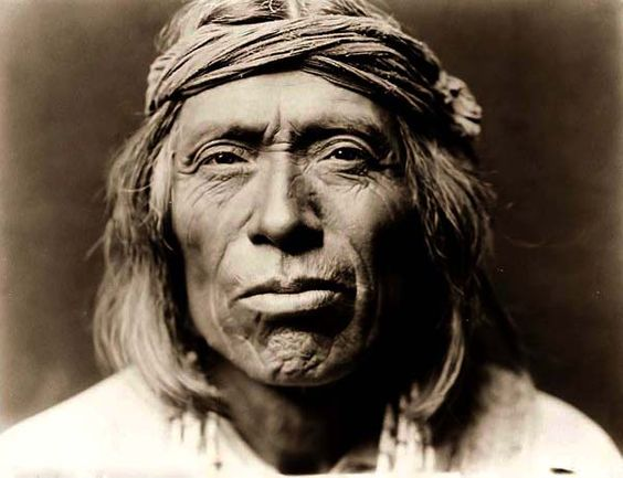 Here for your enjoyment is an absorbing photograph of Shiwawatiwa, a Zuni Warrior. It was created in 1903 by Edward S. Curtis.    The photo shows a nice image of the Indians of North America.    We have compiled this collection of photographs mainly to serve as a valuable educational resource. Contact curator@old-picture.com.    Image ID# 6CD3BA84