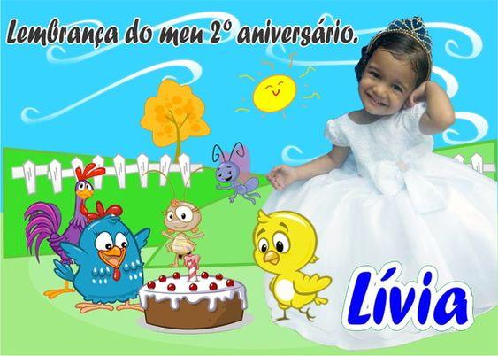 Ímã Galinha Pintadinha