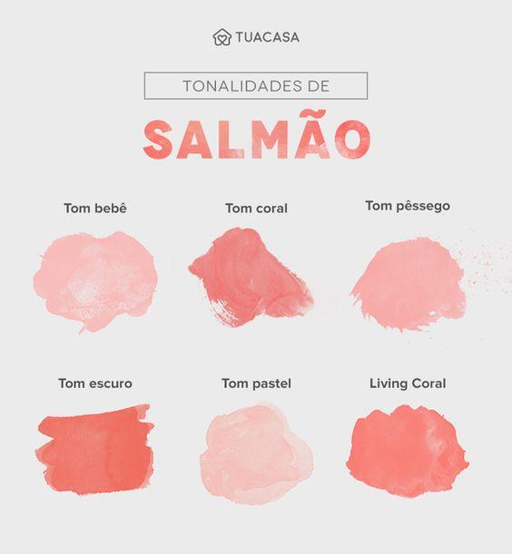 Cor salmão: 40 formas de usar esse tom leve e sofisticado