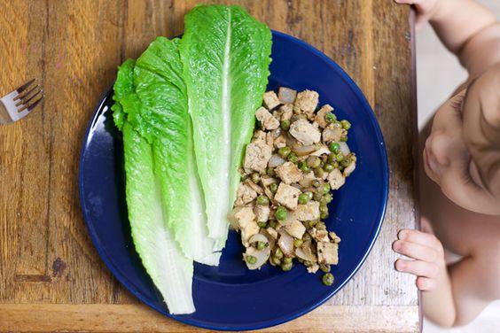 Hoisin Veggie-Tofu Lettuce Cups Recipe — Dishmaps