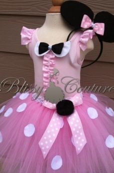 Minnie Mouse Costume Tutu Set