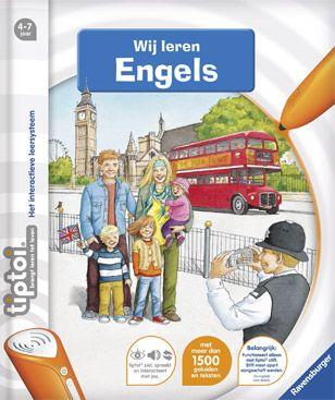Tiptoi Boek Wij leren Engels
