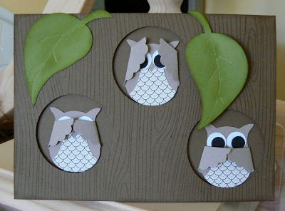 KB Papercraft: The Owls Have It
