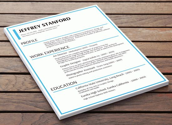 Mini-Resume Style Business Card for a Software Engineer This is - business card resume