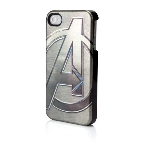 Marvel Metallic Avengers Emblem Case for iPhone 4 : Marvel