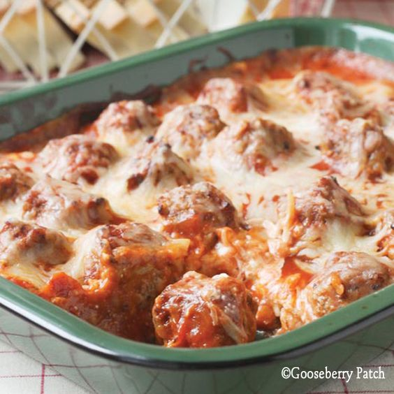 Meatball Sub Casserole--heaven! The family really liked it
