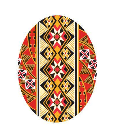 Ukrainian Pysanka Easter card by cwagenblass9 on Etsy, $3.00