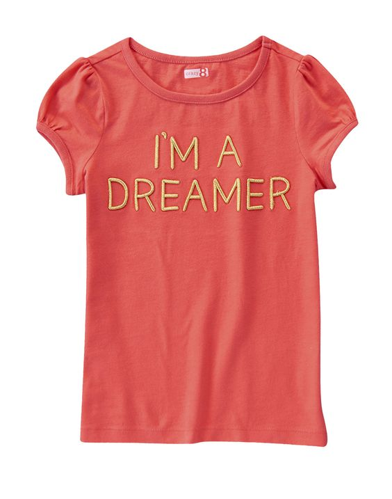 I'm A Dreamer Tee at Crazy 8