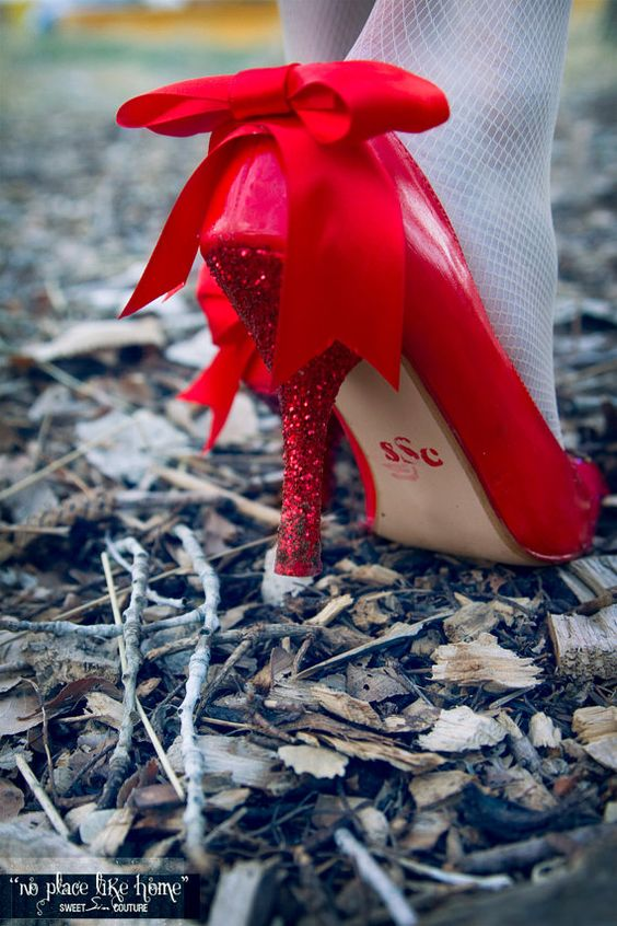 FREE SHIPPING  No Place Like Home Red Hand by SweetSinCouture, $50.00